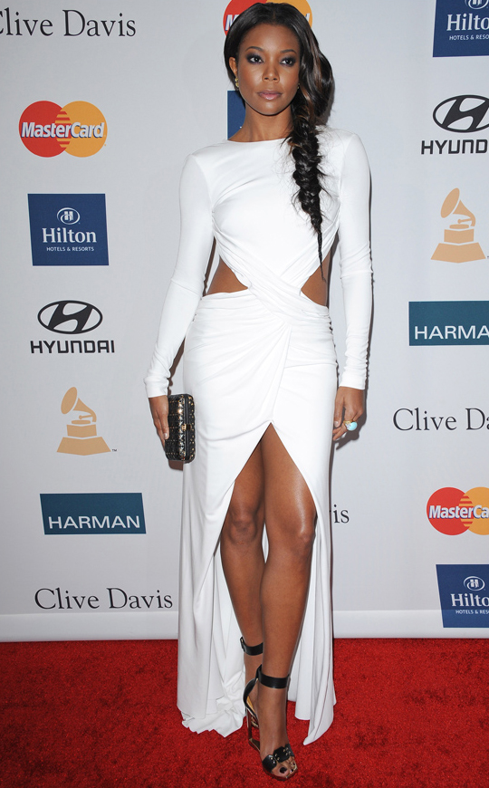 Gabrielle Union - 2012 Grammy Awards