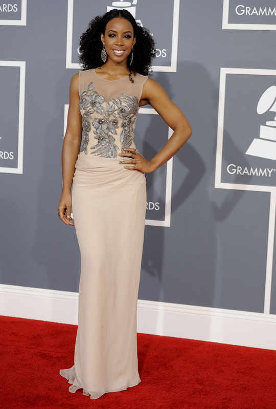 Kelly Rowland - 2012 Grammy Awards