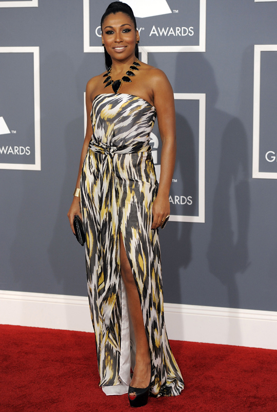 Melanie Fiona - 2012 Grammy Awards