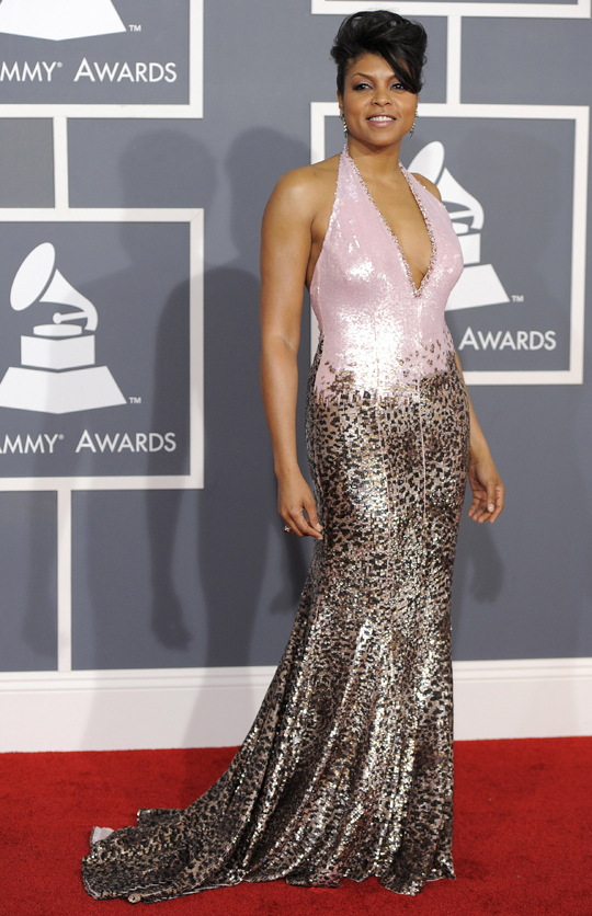 Taraji P. Henson - 2012 Grammy Awards