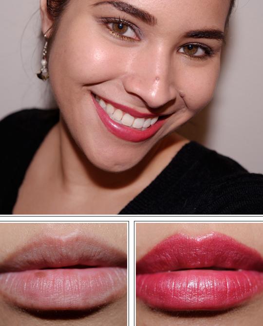 Guerlain Rose Bengale (163) Rouge Automatique Lipstick
