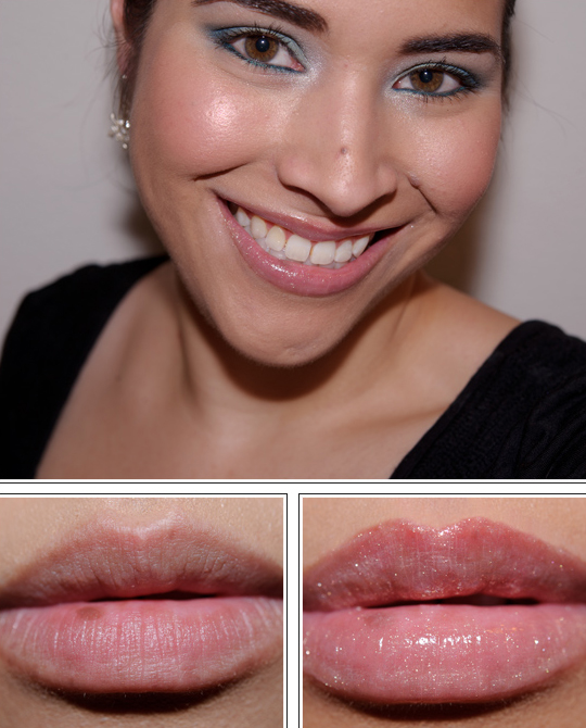 Guerlain Rose in Bloom KissKiss Lipgloss