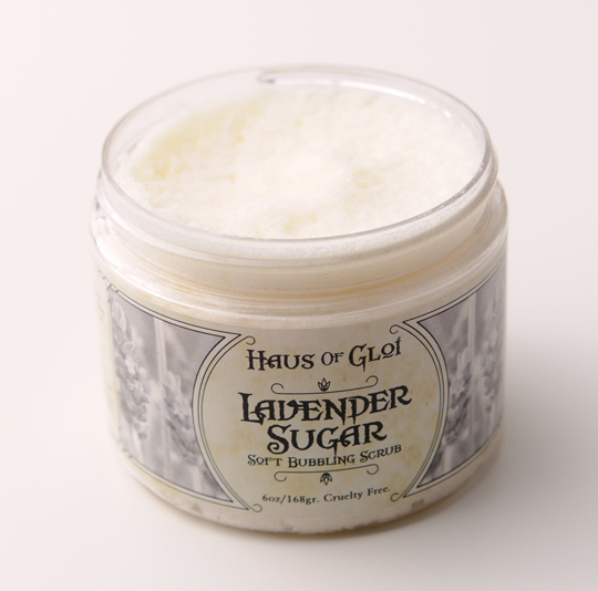 Haus of Gloi Lavender Sugar Bubbling Scrub