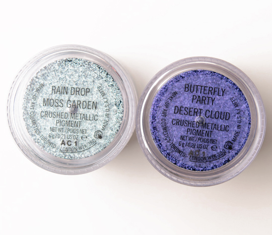 MAC Butterfly Party Crushed Metallic Pigment