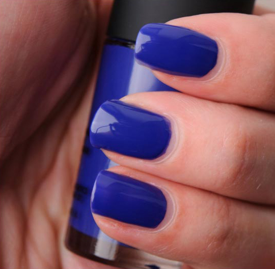 MAC Breezy Blue Nail Lacquer