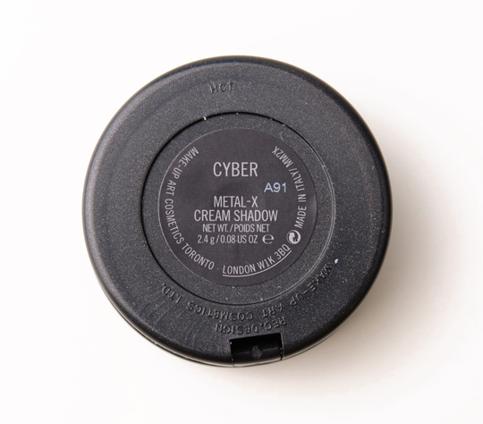 MAC Cyber Metal-x Cream Eyeshadow