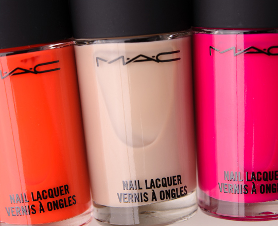 MAC for Iris Apfel Nail Lacquers