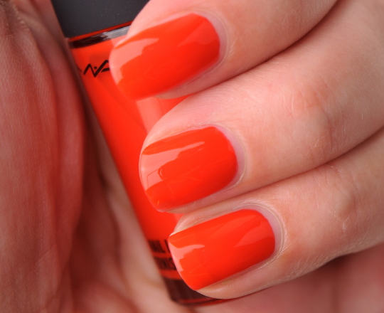 MAC Kid Orange Nail Lacquer