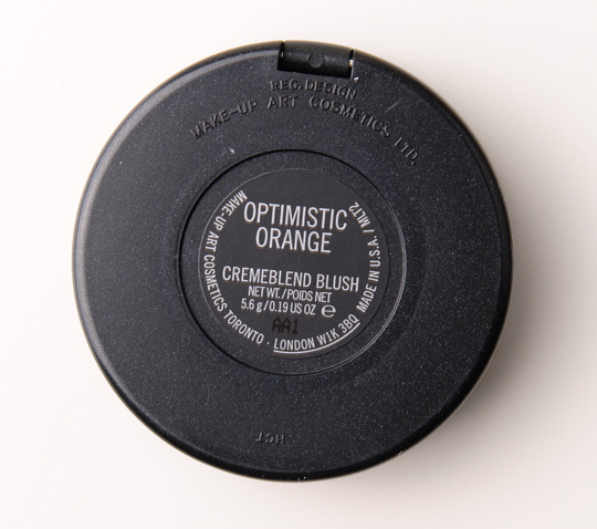 MAC Optimistic Orange Cremeblend Blush