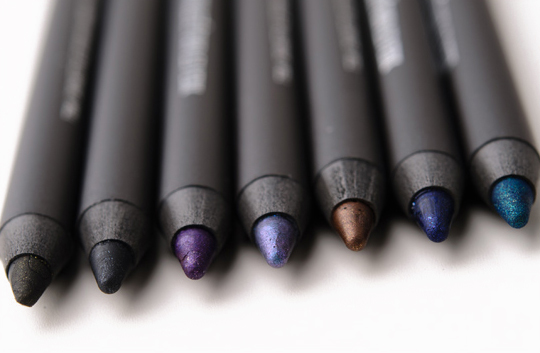 MAC Pearlglide Intense Eyeliners Review, Photos, Swatches