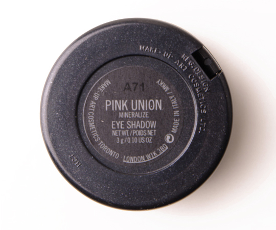 MAC Pink Union Mineralize Eyeshadow Duo