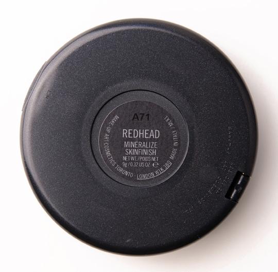 MAC Redhead Mineralize Skinfinish