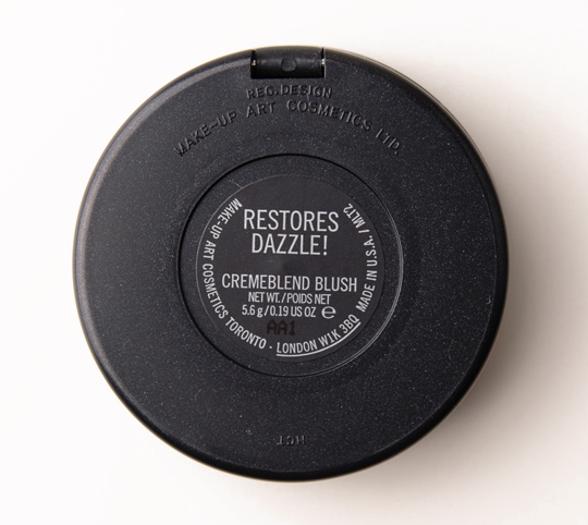 MAC Restores Dazzle! Cremeblend Blush