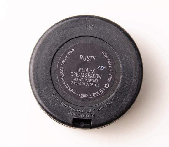 MAC Rusty Metal-x Cream Eyeshadow