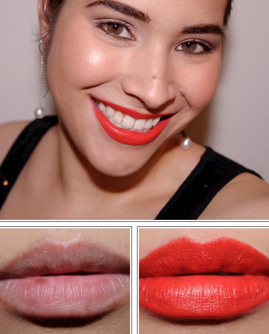 MAC Scarlet Ibis Lipstick