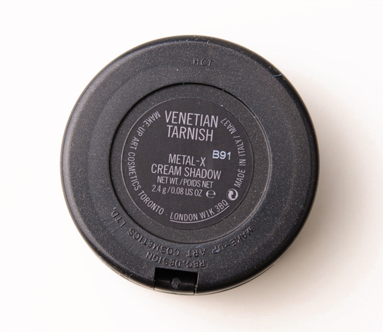 MAC Venetian Tarnish Metal-x Cream Eyeshadow;
