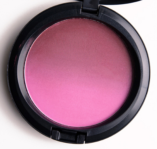 MAC Vintage Grape Blush Ombre