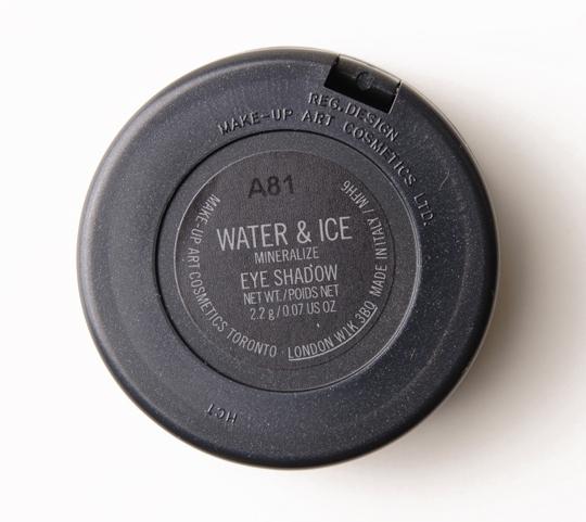 MAC Water & Ice Mineralize Eyeshadow