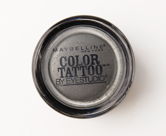 Maybelline Audacious Asphalt Color Tattoo 24 Hour Eyeshadow