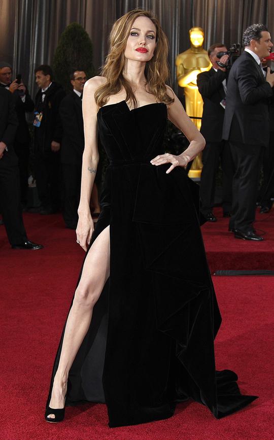 Angelina Jolie @ 2012 Oscars