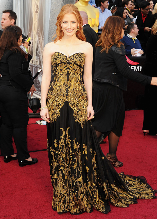 Jessica Chastain @ 2012 Oscars