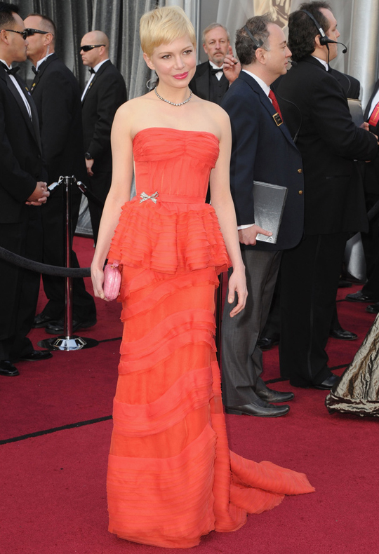 Michelle Williams @ 2012 Oscars