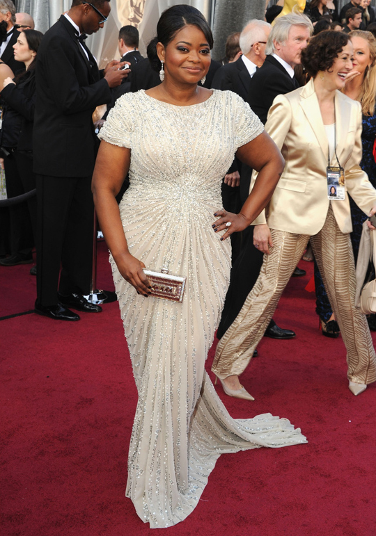 Octavia Spencer @ 2012 Oscars