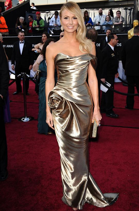 Stacey Keibler @ 2012 Oscars