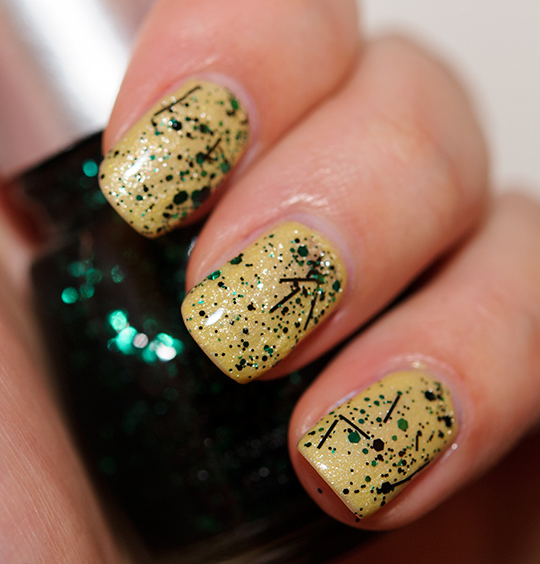 China Glaze Graffiti Glitter Nail Lacquer