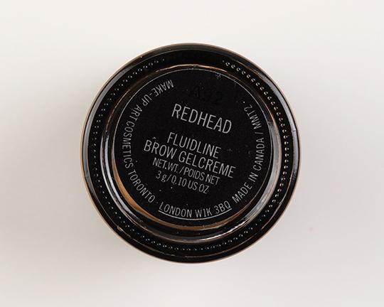 MAC Redhead Fluidline Brow Gelcreme
