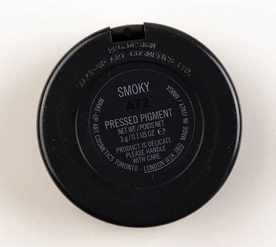 MAC Smoky Pressed Pigment