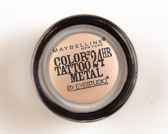 Maybelline Barely Branded Color Tattoo Metal Eyeshadow