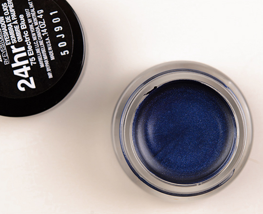 Maybelline Electric Blue Color Tattoo Metal Eyeshadow