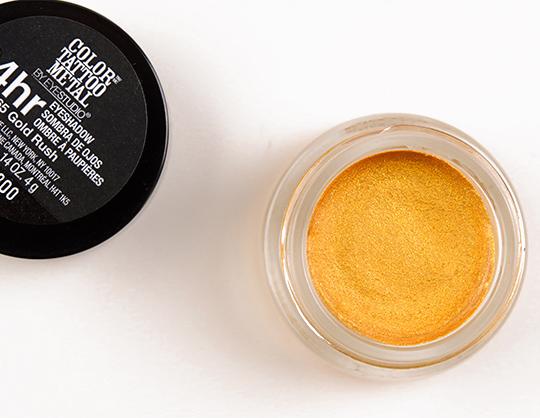 Maybelline Gold Rush Color Tattoo Metal Eyeshadow