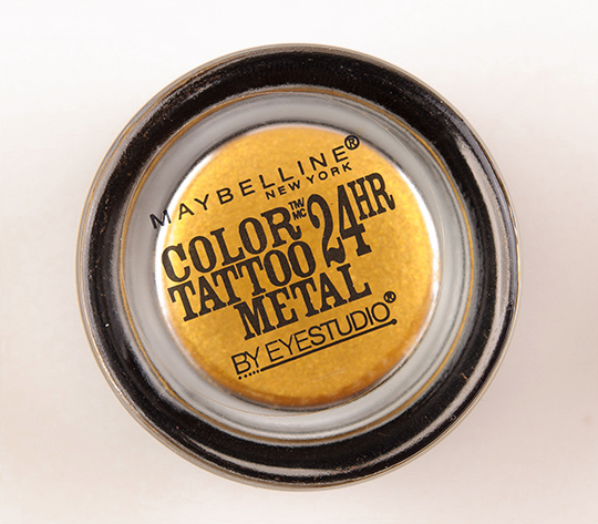 Maybelline Gold Rush Color Tattoo Metal Eyeshadow