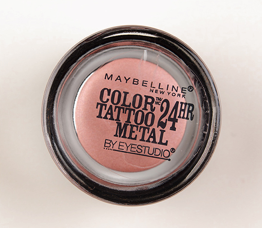 Maybelline Inked in Pink Color Tattoo Metal Eyeshadow