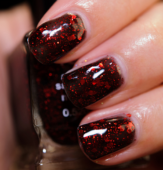 NYX Dark Glitter (NPS 217) Nail Lacquer