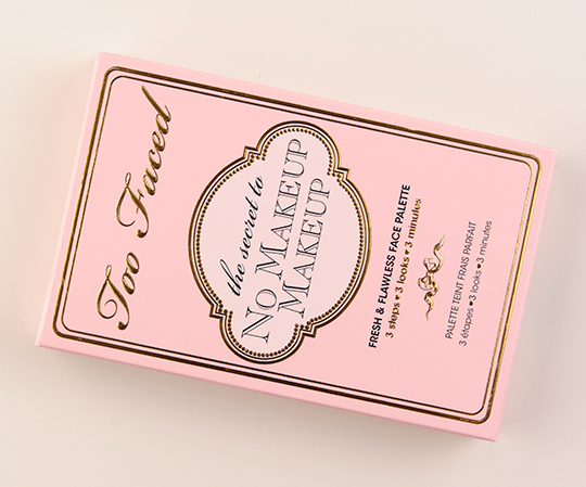 Too Faced The Secret to No Makeup Makeup Face Palette