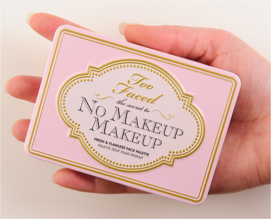 No Makeup Face Palette Review