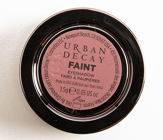 Urban Decay Faint Eyeshadow