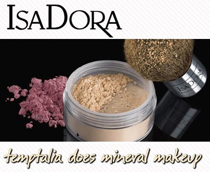 isadora mineral foundation