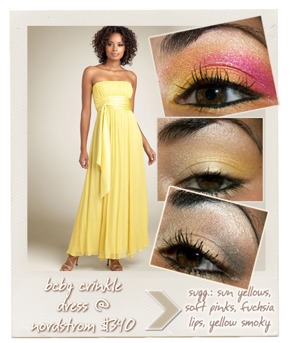 Prom 2008 Pale And Pastel Yellow Dresses And Makeup