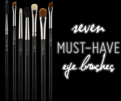 7 Mac Eye Brushes You Must Have For
