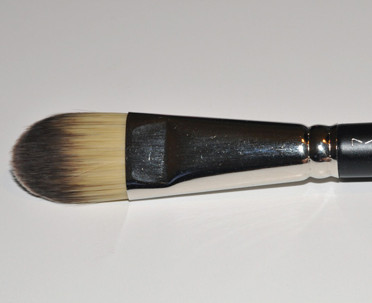 mac foundation brush. beauty basics: mac face brushes mac foundation brush g