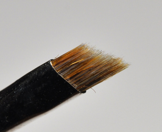 208 Synthetic Angled Brow Brush by MAC #7