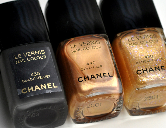 Chanel Noir et Or Collection