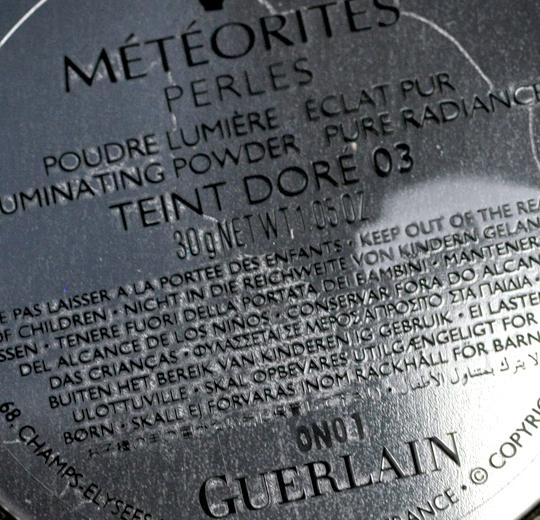 Guerlain Gold Tint Meteorites