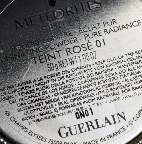 Guerlain Teint Rose Meteorites