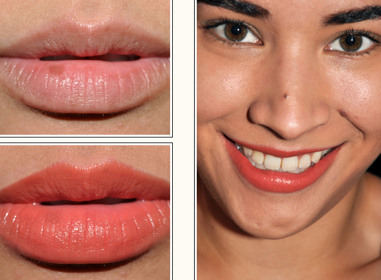 Korres #47 Orange Brown Lipstick