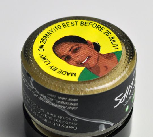 LUSH Sweet Lips Lip Scrub
